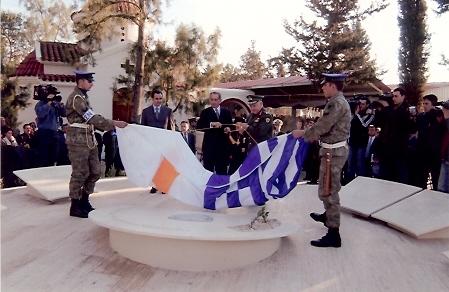 10. Μνημείο Πεσόντων και Αγνοουμένων Αξιωματικών και Οπλιτών Πυροβολικού