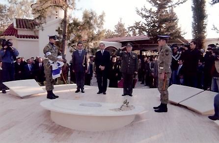 12. Μνημείο Πεσόντων και Αγνοουμένων Αξιωματικών και Οπλιτών Πυροβολικού